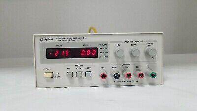Agilent E3630a 35w Triple Output Power Supply - 90 Day Warranty - Nice