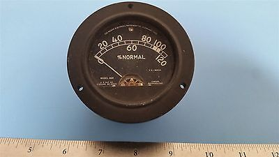 Hickok Normal Panel Meter Gauge 46r