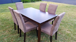 Dining table and chairs Valley Heights Blue Mountains Preview