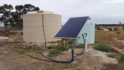 Solar Water Pump - submersible, bore, dam, creek, big, small