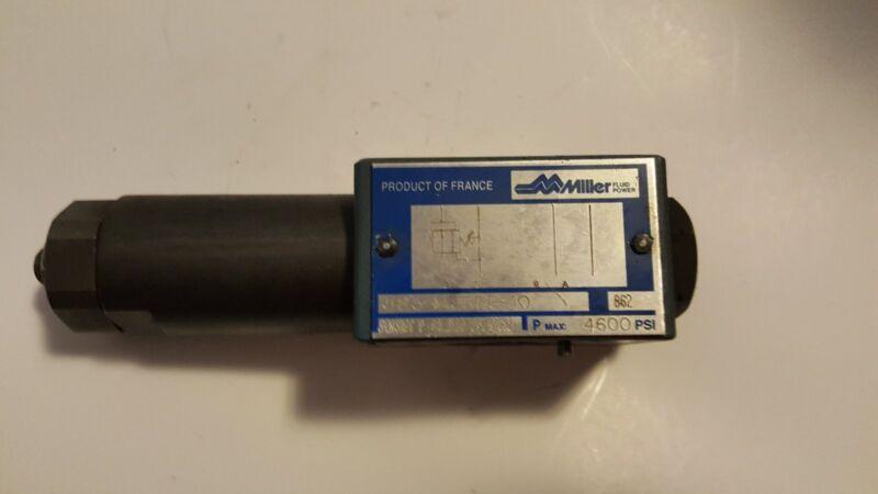 Miller Fluid Power Hydraulic Pressure Reducing Valve 583-M3RRP-10