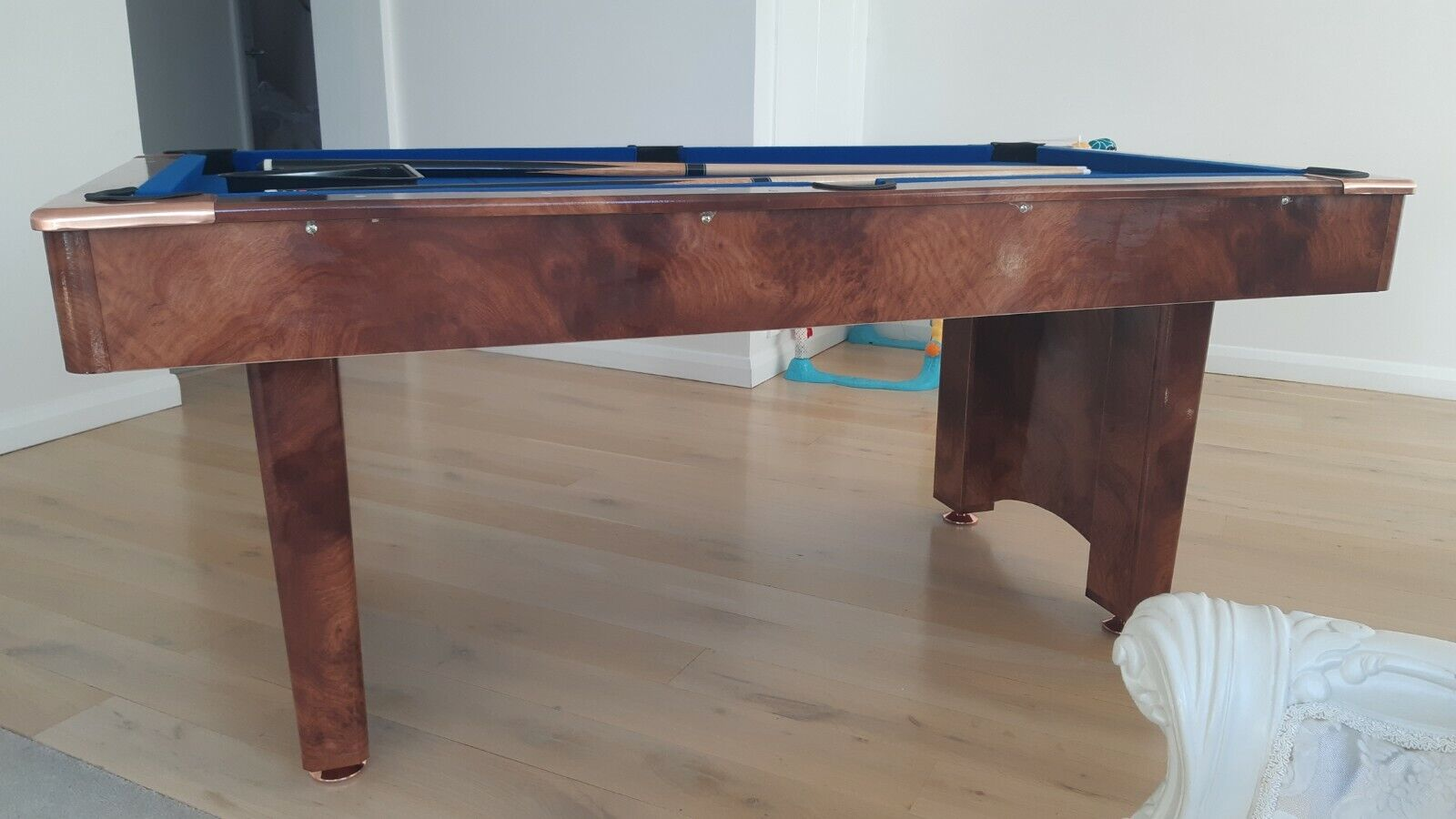 BCE Limited Edition Pool Table (ONLY 2 days use!) Easy Folding and Ball Return
