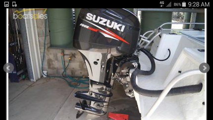 Boat brooker 4.3 suzuki 50hp four stroke