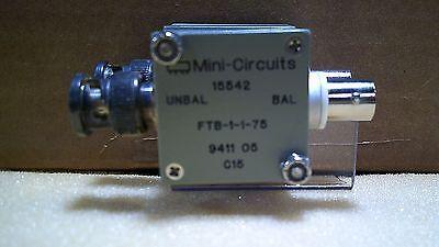 Mini Circuits 15542 Ftb-1-1-75 9411 05 C15 Rf Transformer