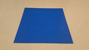Base Plate Blue Building Board LEGO Compatible Baseplate 32x32 Studs Size