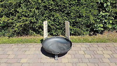 Feuerschale Bonn Ø 80 cm + 2 Flammlachsbretter