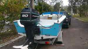 1994 Force/Mercury 90 hp outboard motor Munruben Logan Area Preview