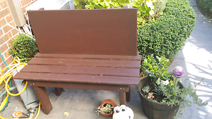 Wooden Outdoor Bench Seat Narre Warren South Casey Area Preview