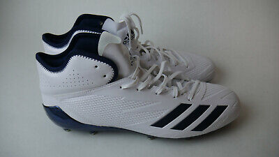 Mens Adidas Adizero 5-Star 6.0 Football Cleats Mid Size 13 White