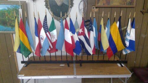 lot of 20 pan america flags newark museum newark nj