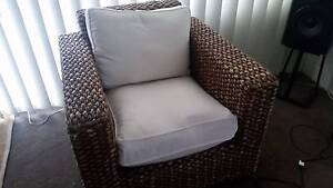 Cane Wicker Chair St Peters Marrickville Area Preview
