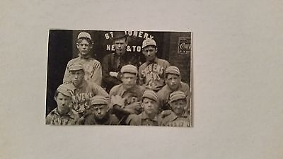 Stevens News Company Kansas City Missouri 1906 Baseball Team Picture SP VERYRARE - Party City News