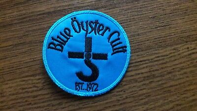 BLUE OYSTER CULT,SEW ON EMBROIDERED PATCH