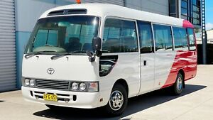 2000 TOYOTA COASTER DELUXE BUS 4.2 DIESEL 1HZ - EX QANTAS - READY FOR WORK OR MOTORHOME CONVERSION South Windsor Hawkesbury Area Preview