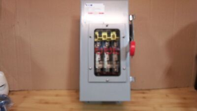Eaton Dh361ndkw Safety Switch 30a3p600v250dc Heavy Duty