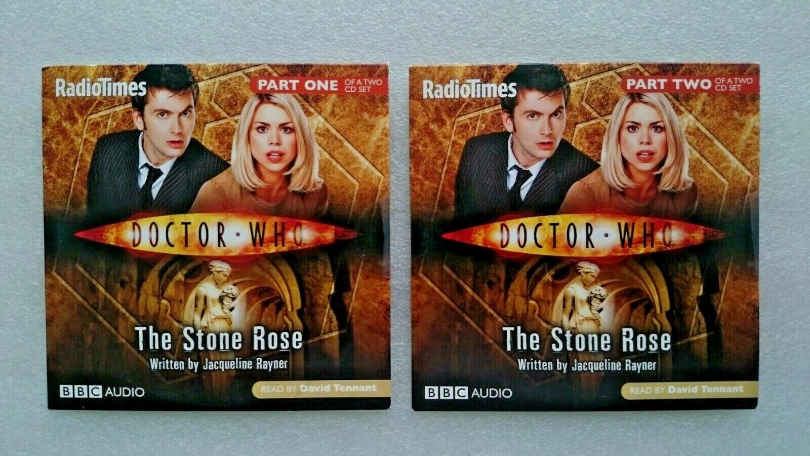Doctor Who  The Stone Rose CD Audio Soundtrack (NEW and SEALED)