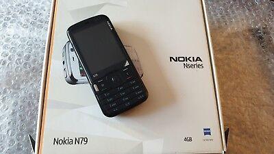 Nokia N79 - BLACK (Unlocked) Smartphone gebraucht kaufen  Versand nach Germany