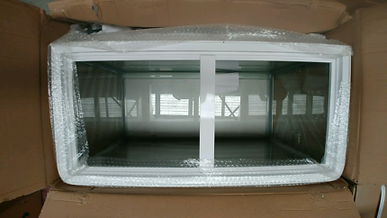 2.8ft curved glass aquarium tank with hood  Blacktown Blacktown Area Preview
