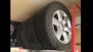 "20"" Nissan Rims w/ New BF Goodrich All-Terrain T/A KO2"