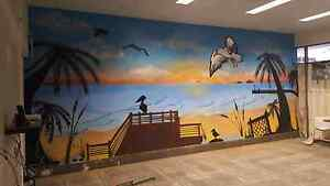 Mural artist Brisbane City Brisbane North West Preview
