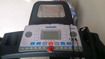 Price Down !! URGENT INFINITY TS20 TREADMILL WITH FREE FLOOR MAT Strathfield Strathfield Area Preview
