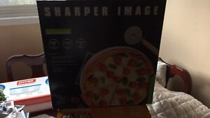 Sharper image pizza 3 pieces new inbox