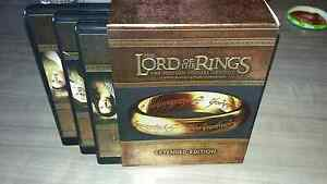 Lord of the ring trilogy extended edition  Gatineau Ottawa / Gatineau Area image 1