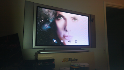 Lg plasma with sony stereo and sub and dvd player