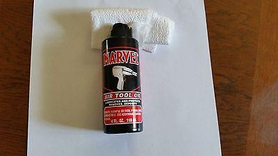 Marvel Air Tool Oil 4 oz.