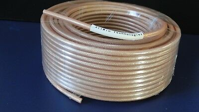 RG142, 100ft, Double Shielded, 50ohm Coaxial Cable with Tan FEP Jacket segunda mano  Embacar hacia Argentina