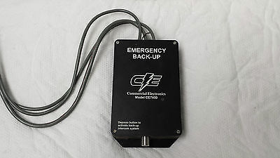 Drive Thru Emergency Backup Switch