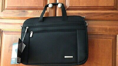 "NWT Samsonite Laptop Shuttle Bag Black 16""x12"""