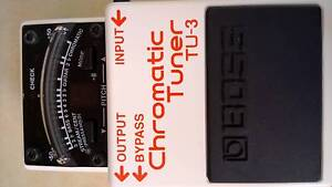 BOSS TU-3 guitar bass pedal effect tuner Taringa Brisbane South West Preview