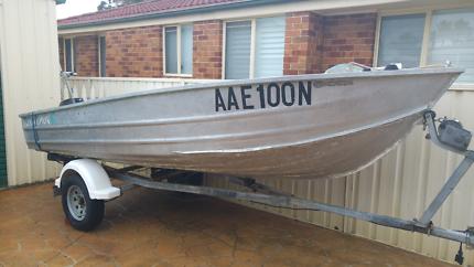 Aluminum Boat 4.2