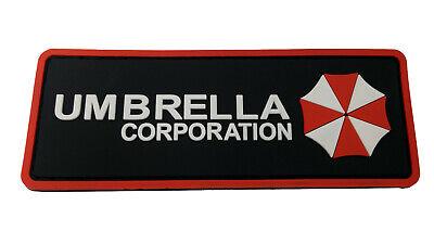 PVC Umbrella Corp Resident Evil VELCRO® BRAND Hook Fastener Patch, usado comprar usado  Enviando para Brazil
