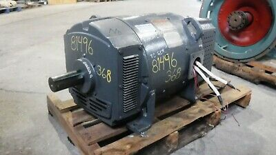 65 Kw General Electric Dc Generator 1800 Rpm Fr. 368at Dp 500 V Eok