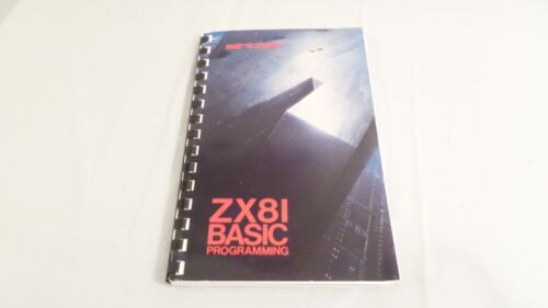 1982 Sinclair ZX8I Basic Programming SC by Steven Vickers