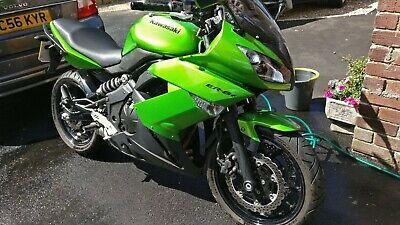 2010 Kawasaki ER6F motorbike genuine 600 miles only!!