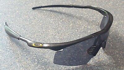 Oakley M Frame Black Shield Composite Designer Sunglasses Eye cover Made in USA