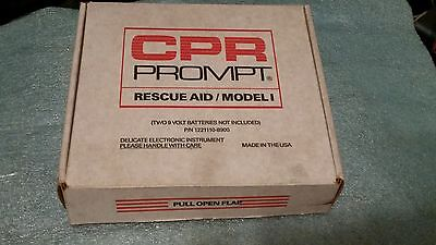 Cpr Prompt Rescue Aid Model 1 Wall Mounted Cpr-1 New