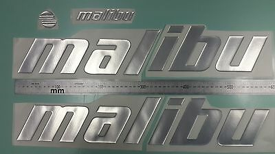 Malibu Boat Emblem 22 5  Chrome   Free Fast Delivery Dhlexpress   Stickers Decal