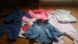 Baby girl clothes 6 t0 9 mths