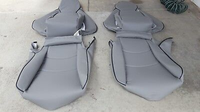 Upholstery Vinyl Kit - PORSCHE 911 993 968 UPHOLSTERY SEAT KIT GERMAN VINYL BEAUTIFUL SET NEW