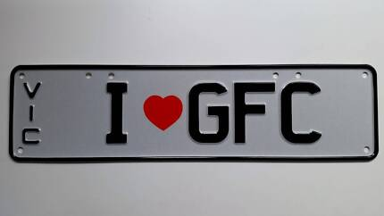 Number plate for the biggest Cats fan