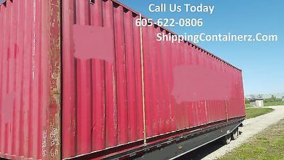 40ft Hc Shipping Container Storage Container Conex Box In Chicago Il