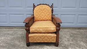 Fantastic Vintage Armchair with Yellow Cushions Little Bay Eastern Suburbs Preview