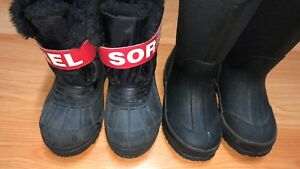 Sorel and bogs boots used size 11