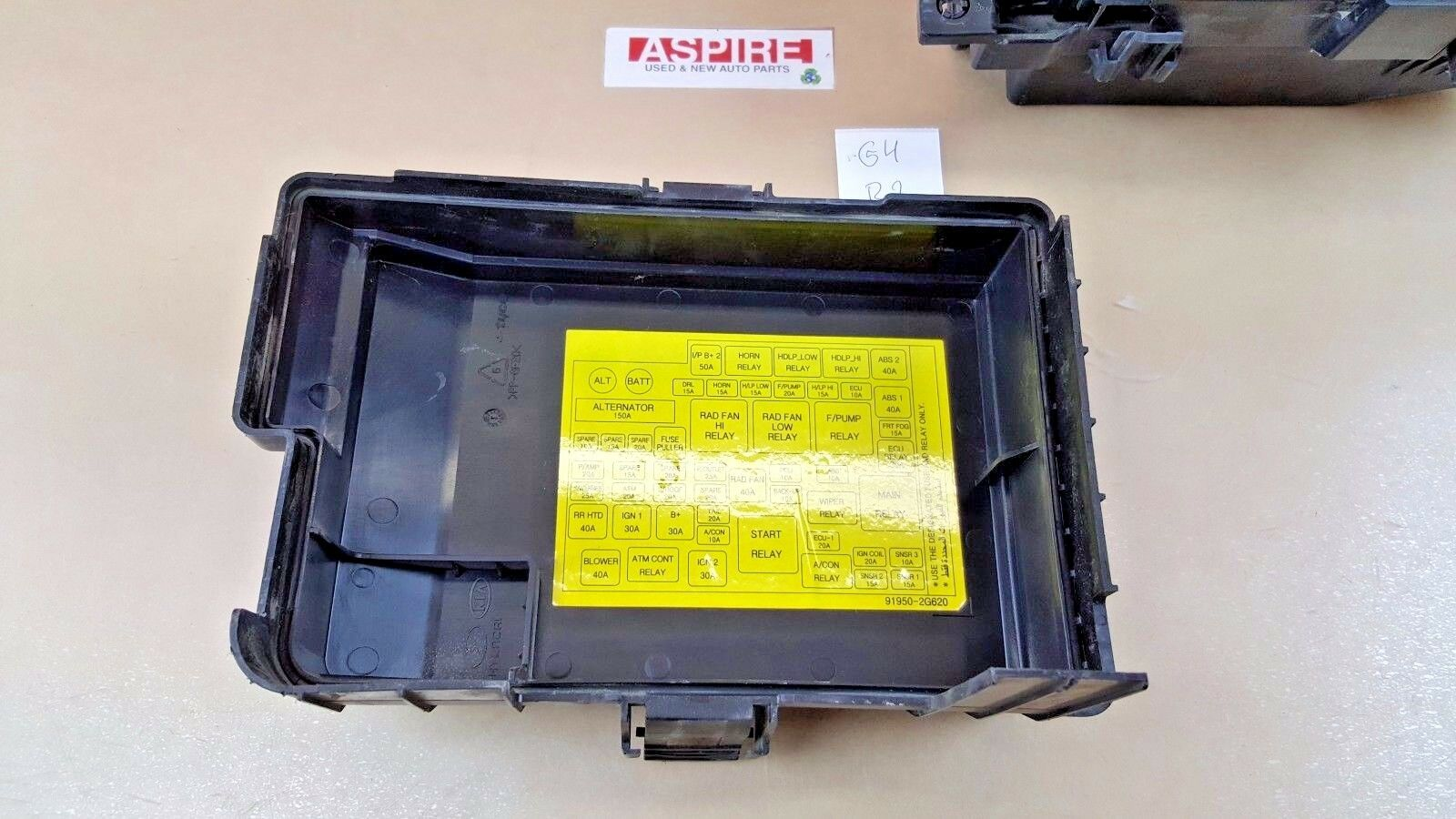 Used Kia Suspension And Steering Parts For Sale Page 39 Optima Fuse Box 2006 2010 Relay Junction Module 919502g710 Oem