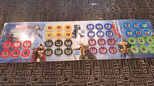 Marvel heroes disks collection complete Bentleigh Glen Eira Area Preview