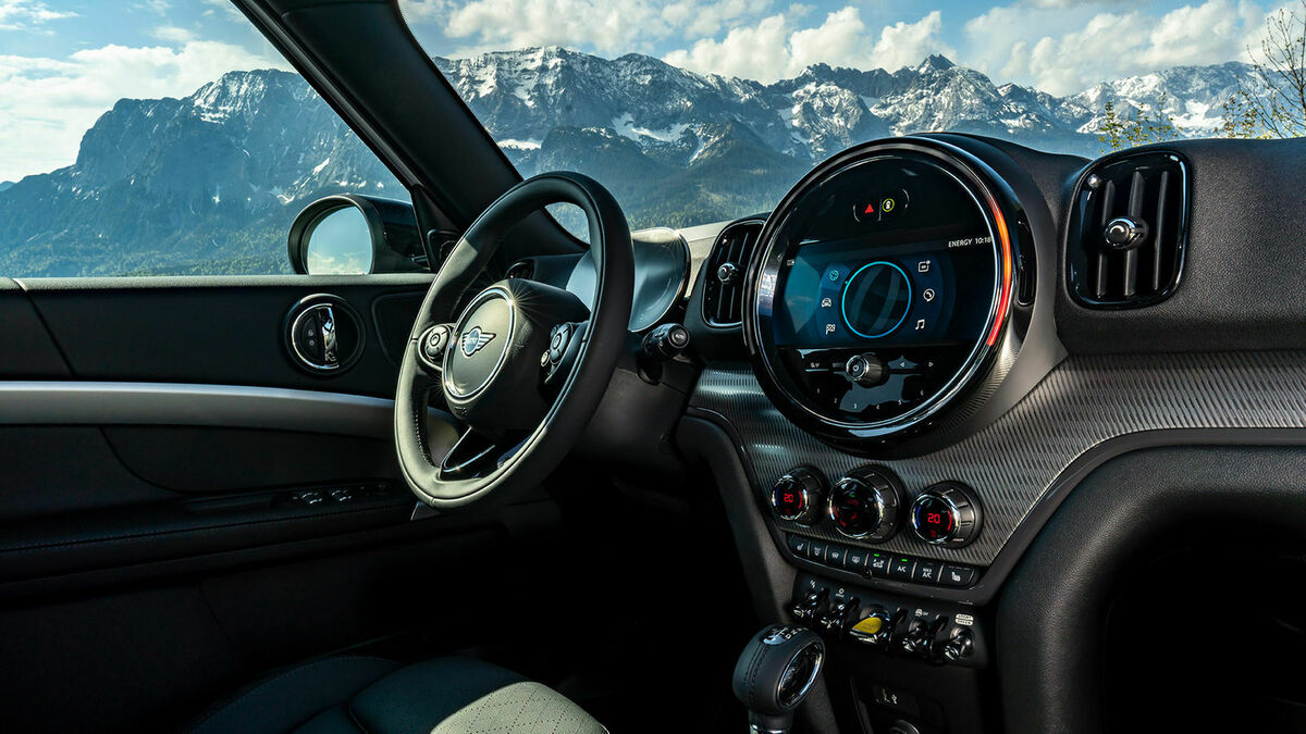 Mini Countryman Cockpit